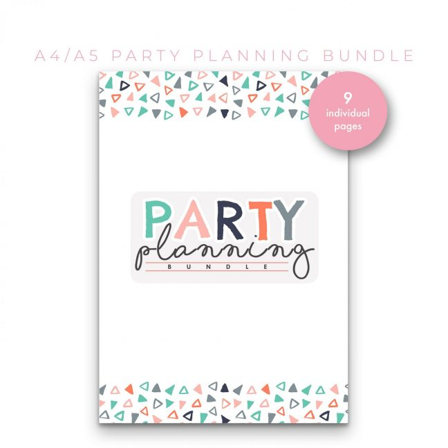 Party Planning Bundle – Mint
