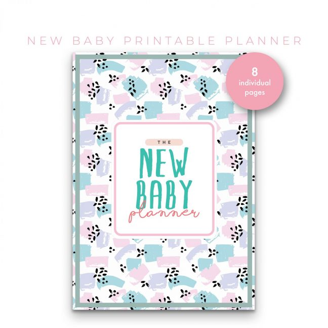 New Baby Planner 8 in 1 – Mint