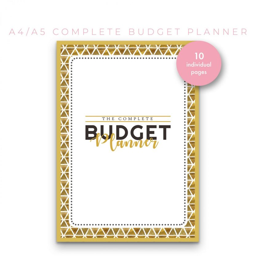 Ultimate Budget Planner 10 in 1 – Yellow Ochre