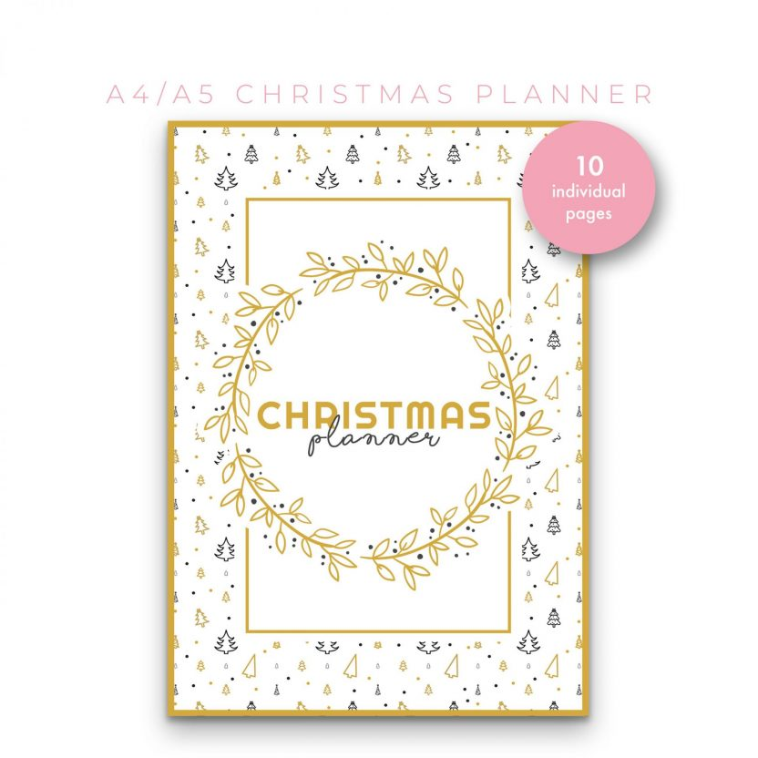 Christmas Planner 10 in 1 – Yellow