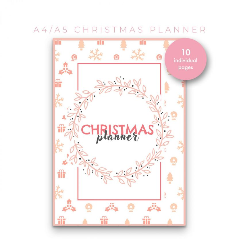 Christmas Planner 10 in 1 – Peach