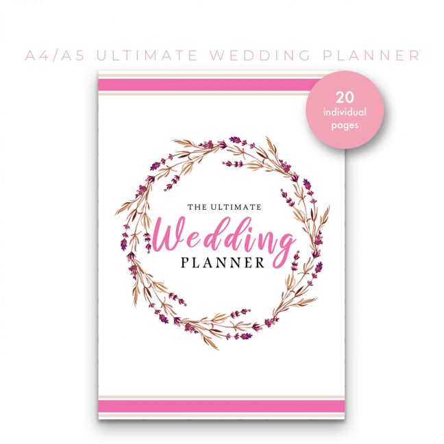 Wedding Planner 20 in 1 – Pink