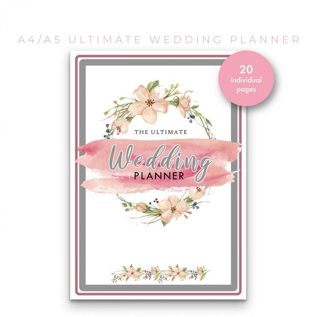 Wedding Planner 20 in 1 – Peach