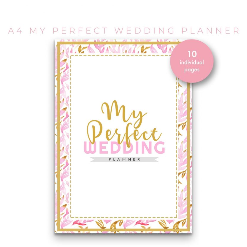 Perfect Wedding Planner 10 in 1 – PinkGold