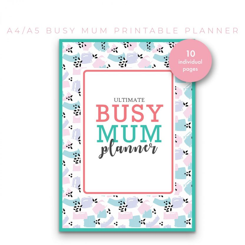 Busy Mum Family Planner 10 in 1 – Mint