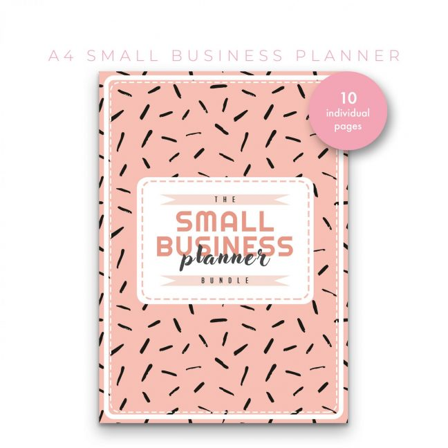 Small Business Planner 10 in 1 – Peach