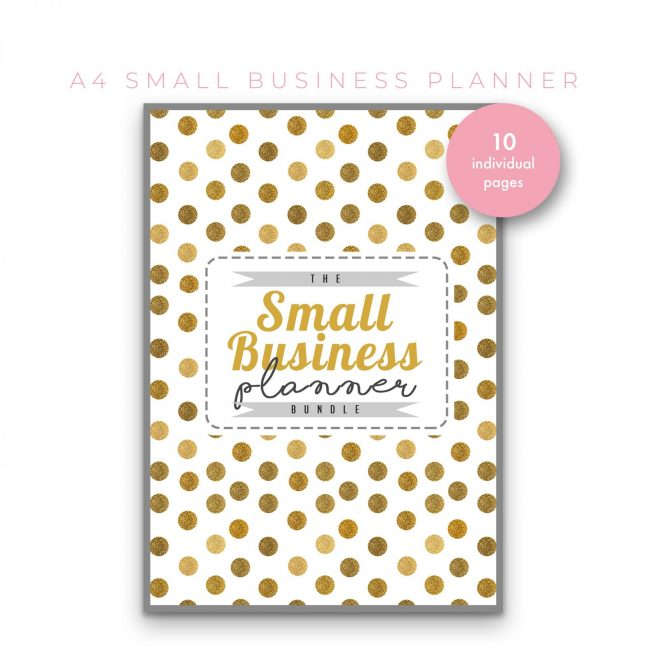 Small Business Planner 10 in 1 – Gold