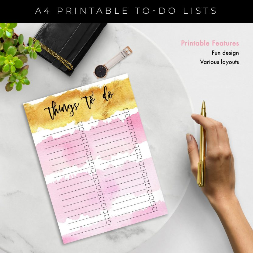 Ultimate To Do List 4 in 1