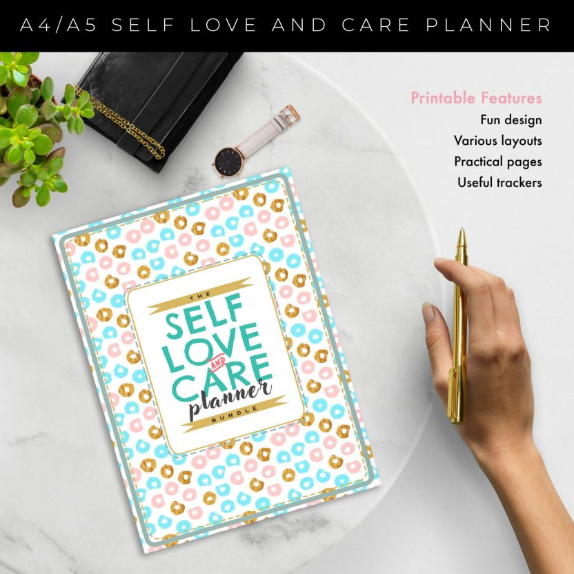Self Love And Care Planner – Mint