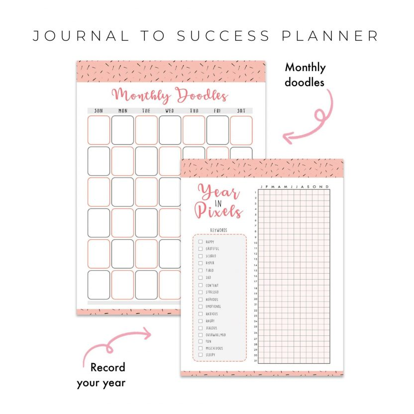 Journal To Success 5 in 1 – Peach