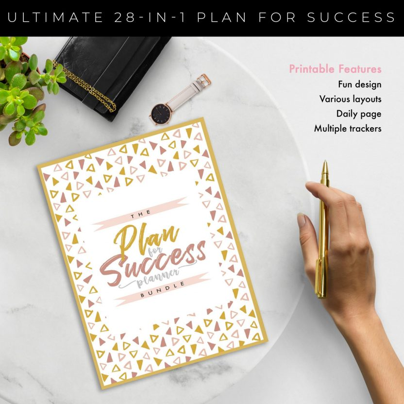 Plan for Success 28 in 1 – Yellow