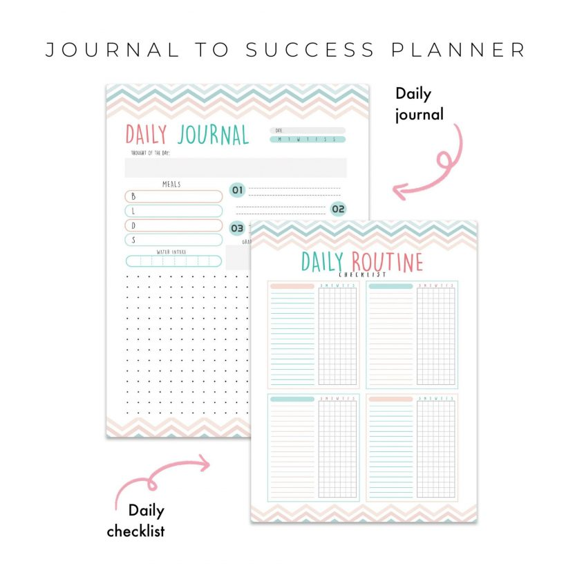 Journal To Success 5 in 1 – Mint