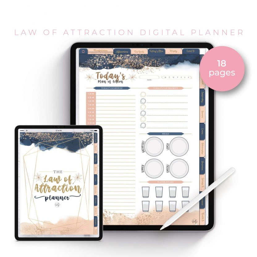 The Law of Attraction Planner
