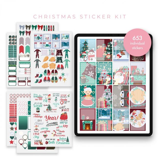 Christmas Mega Bundle Stickers