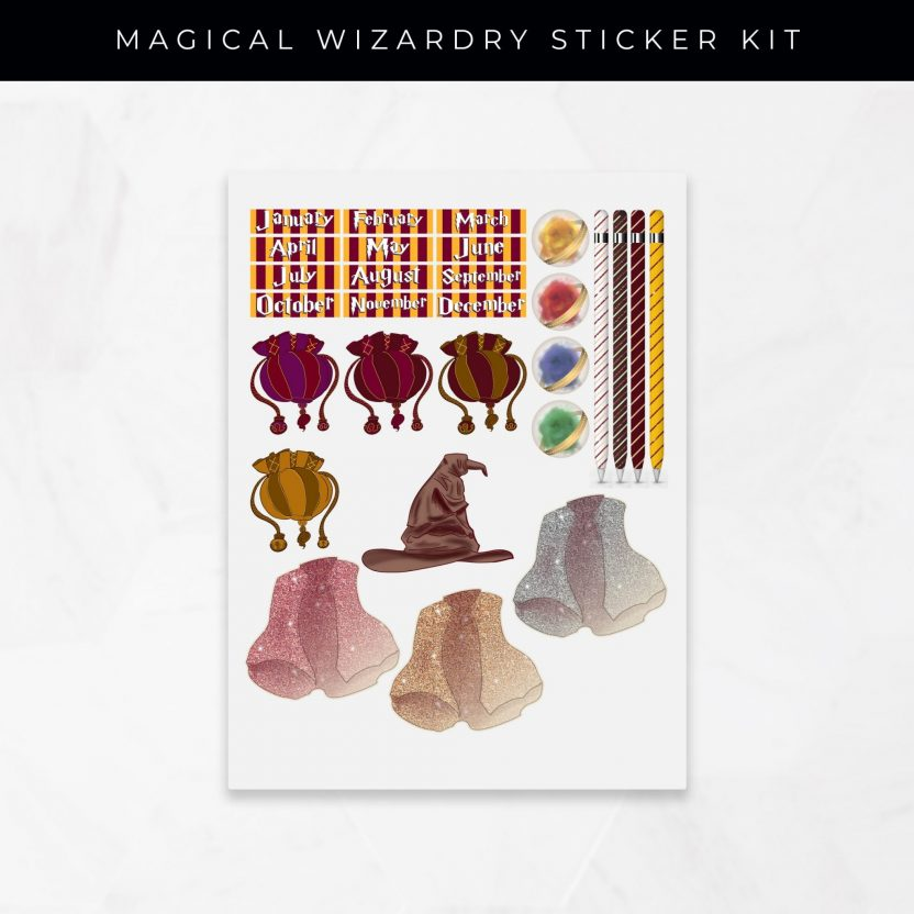 Magical Wizardry Stickers