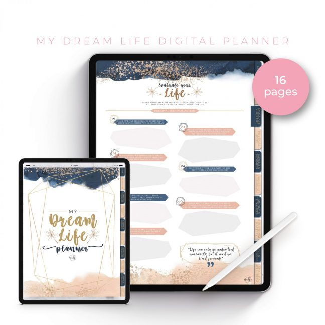 My Dream Life Planner