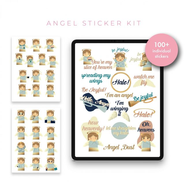 Angel Stickers