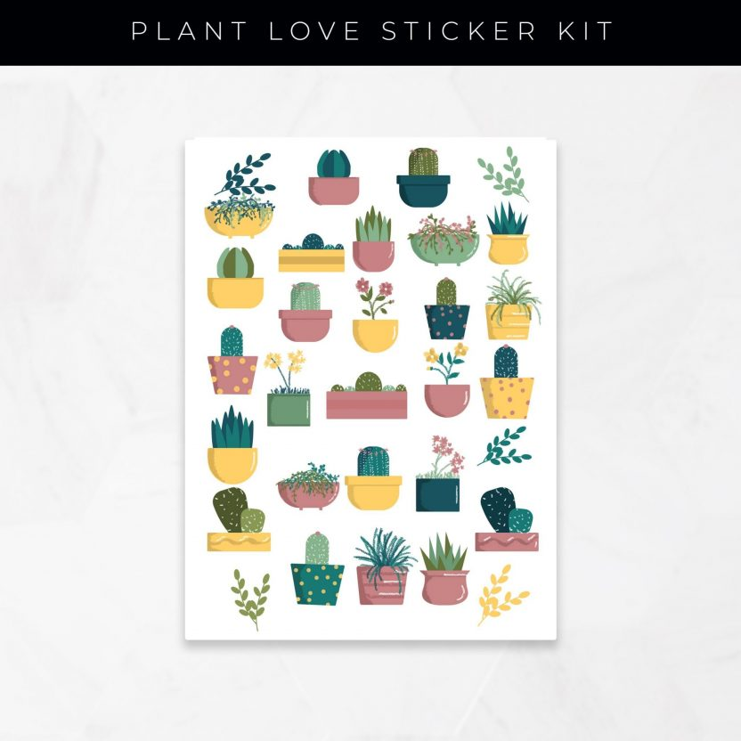 Plant Love Stickers