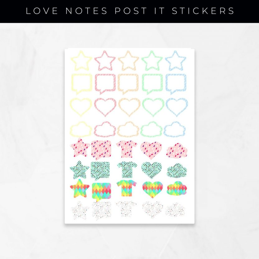 Love Notes Post It