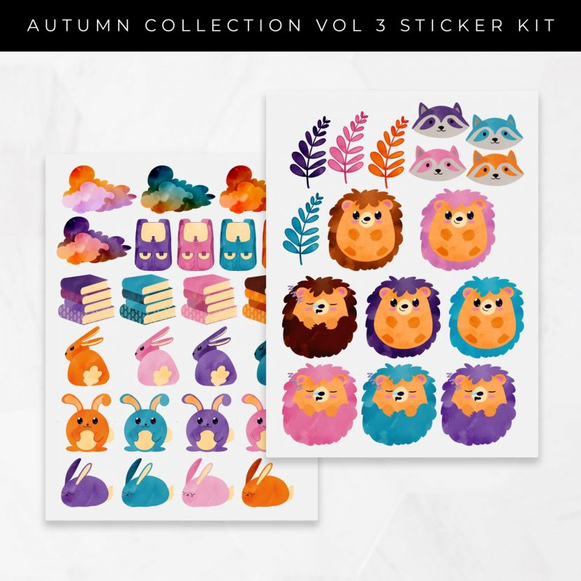 Autumn Collection Vol 3 Stickers