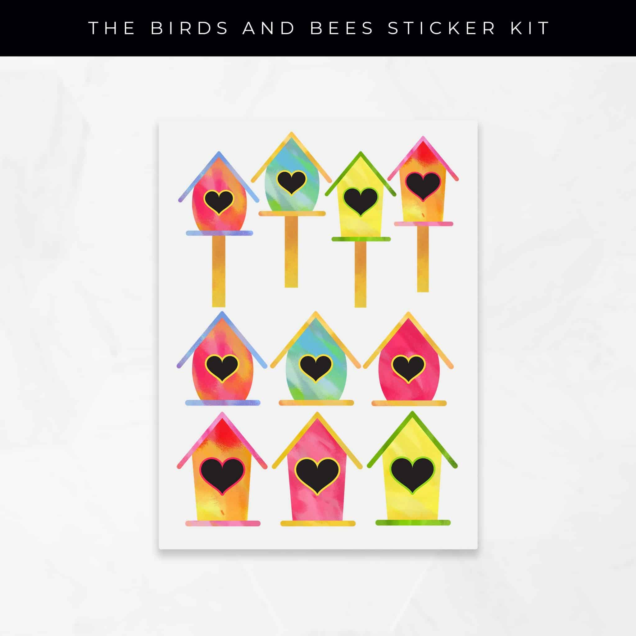 The Birds & Bees Stickers