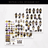 Witch Life Stickers
