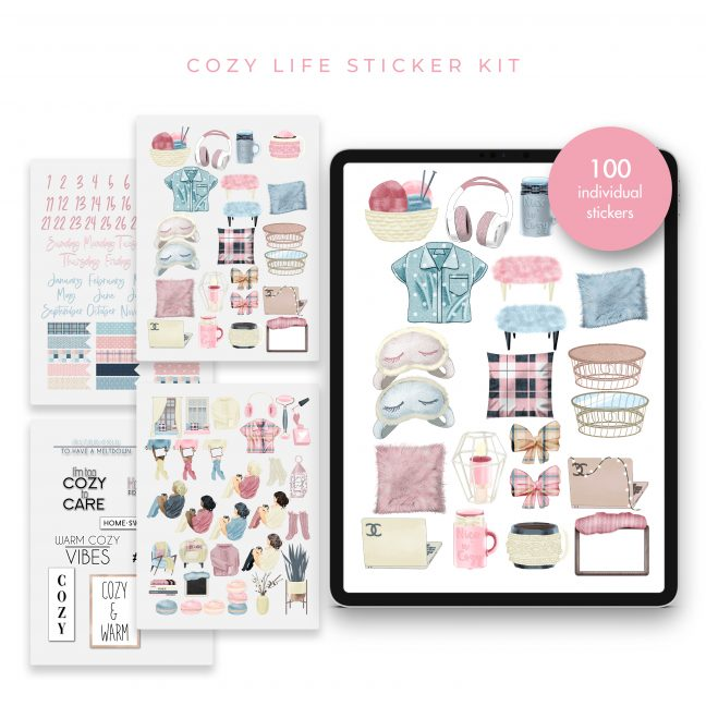 Cozy Life Stickers