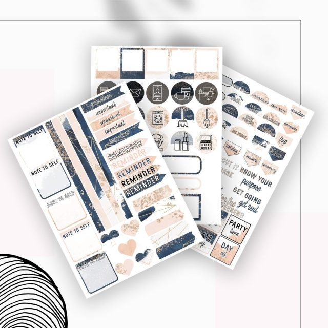 Did you know that each Ultimate Life Planner comes with its own dedicated sticker collection as well? Here's our 2021 Life Planner stickers in Blush and Navy ❤️   Type a YES if you've gotten your own Ultimate Life Planner from our Etsy store or website! ❤️  __  #worthygal #worthygaldigital #ultimatelifeplanner #2021planner #2021willbebetter #2021willbeouryear #2021willbebeautiful #planningcommunity #planningahead #planforthefuture #digitalstickers #digitalsticker #goodnotesstickers #goodnotesstickersheet
