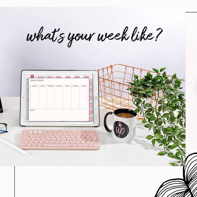 Here's something you can use over... and over... and over again. ❤️  Featuring our Undated Life Planner in Pink 💞 __  #worthygal #worthygalplanner #worthygaldigital #undatedplanner #goodnotesundatedplanner #pinkplanner #digitalplanning #digitalplanningaddict